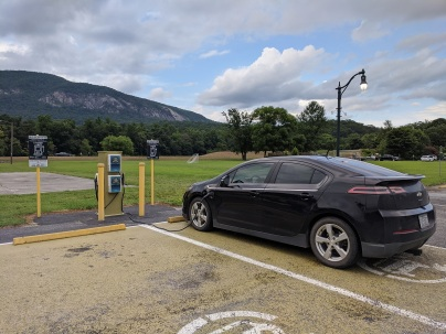 This park at Lake Lure has free public charging